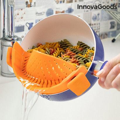 Scolapasta in Silicone Pastrainer InnovaGoods