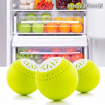 InnovaGoods Fridge Eco Balls (pack of 3)
