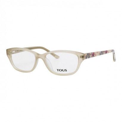 Montatura per Occhiali Donna Tous VTO7675397NM (53 mm) Beige (ø 53 mm)